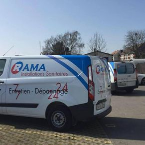 Rama Installations sanitaires - Gland - voiture